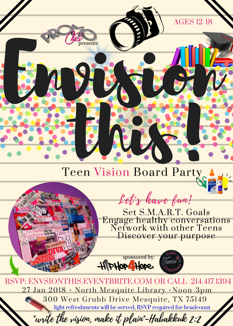 #Teen #Vision #Board #Party