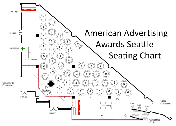 ADDY Seating Chart