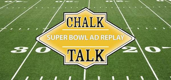 Logo: Chalk Talk with Field background