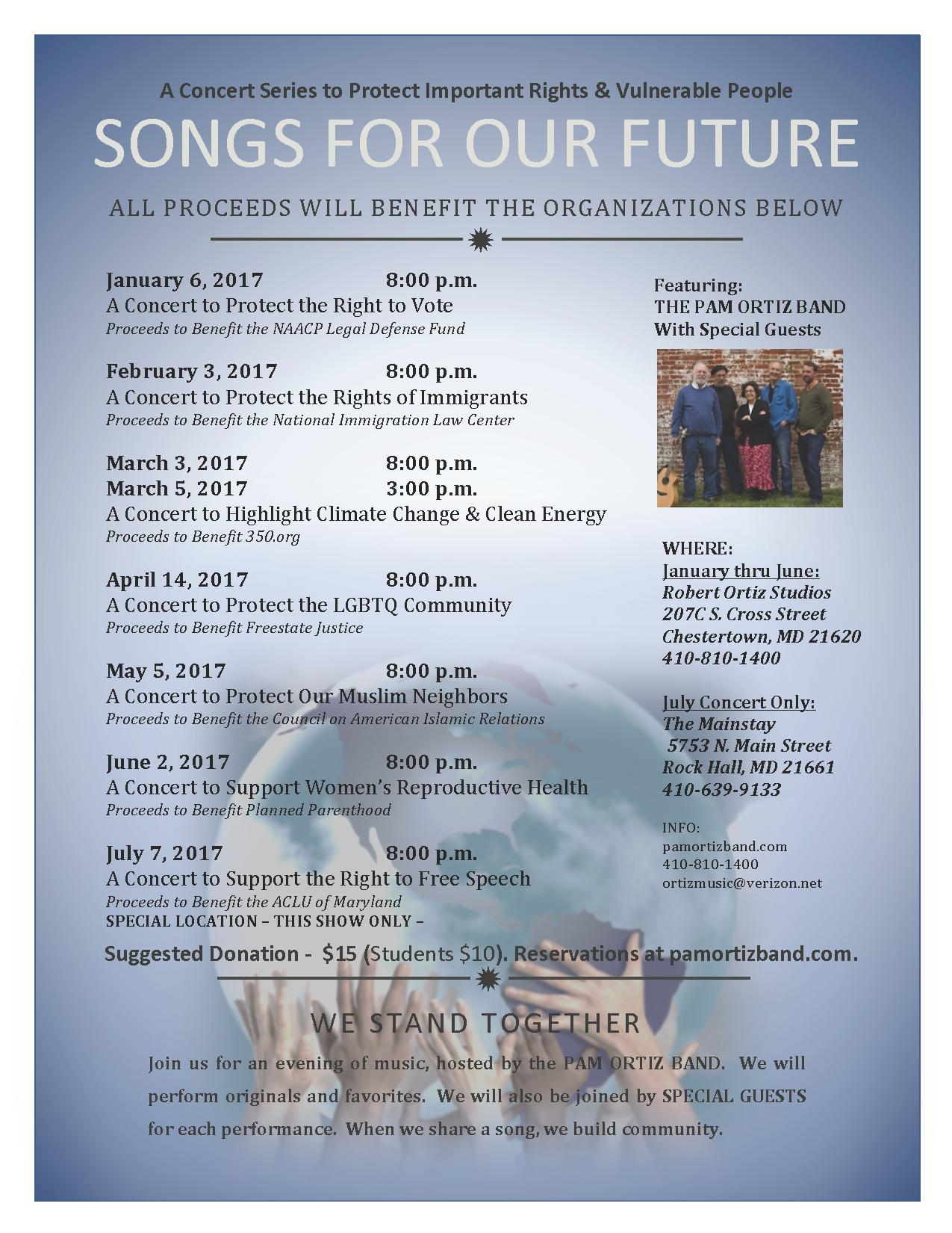 concert series flyer