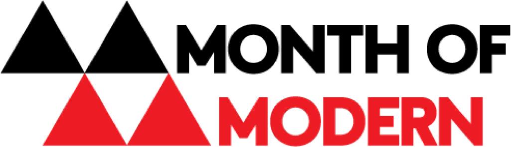 Month of Modern logo