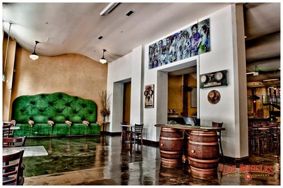 LA Brewing Company main floor