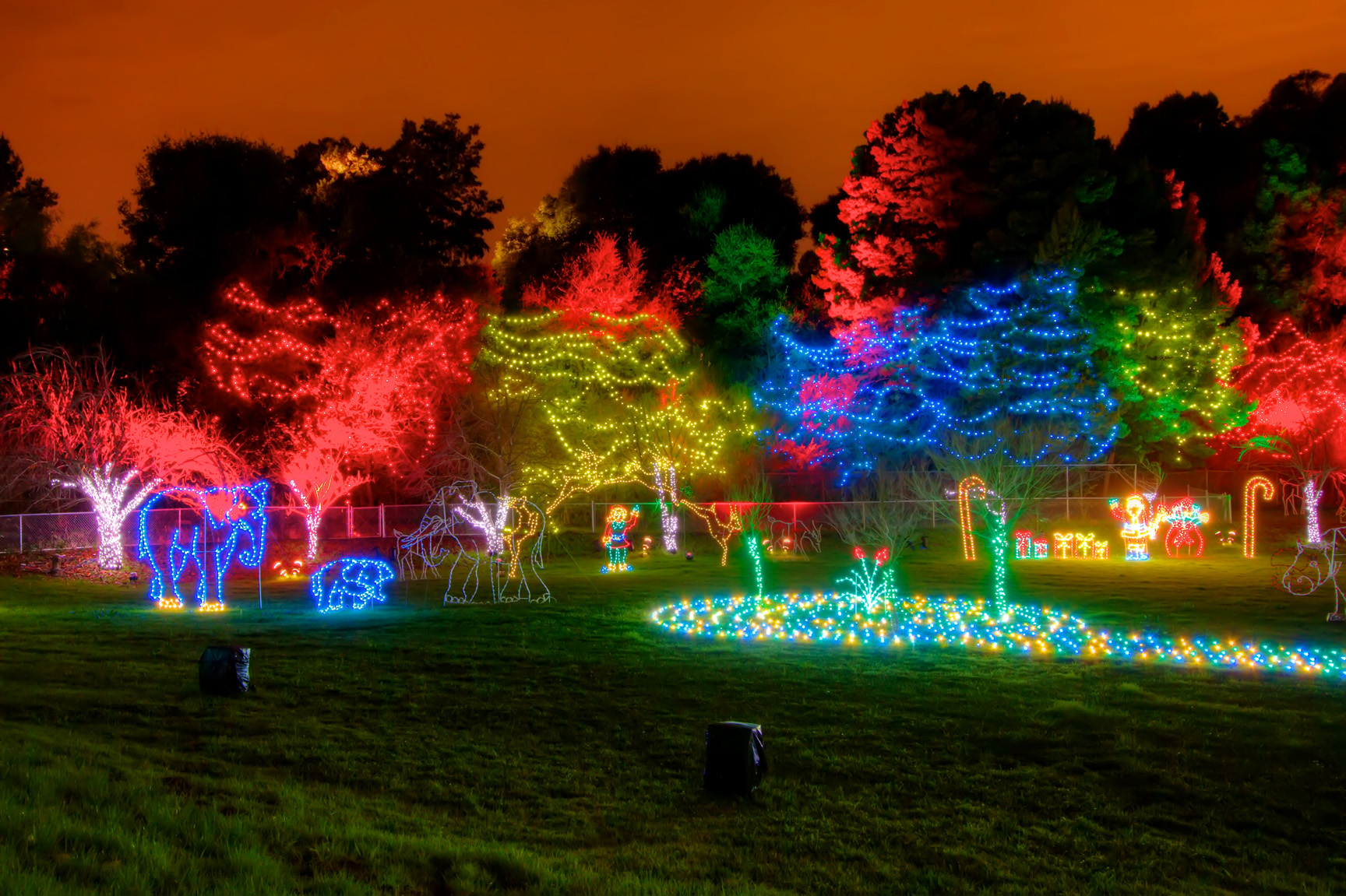 Event runs from 5 30pm 9 00pm tickets purchased for zoolights may