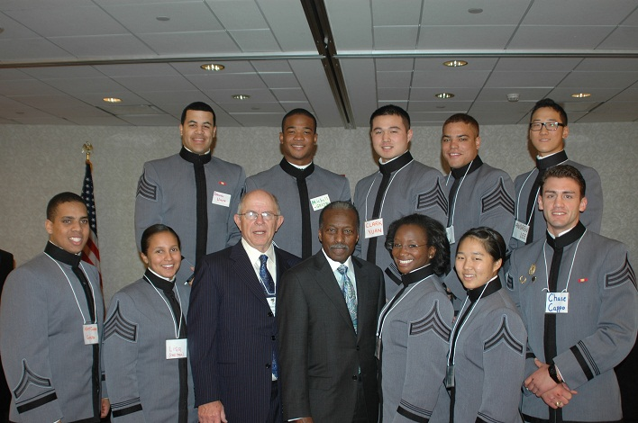 Detroit 2011 West Point Leadership and Ethics Cadets