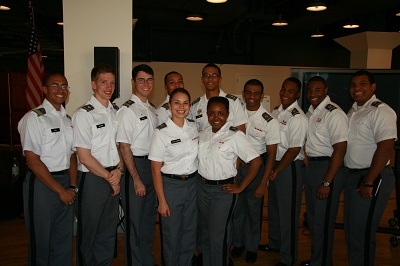 Cadets from West Point