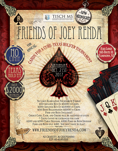 Friends of Joey Renda 2017