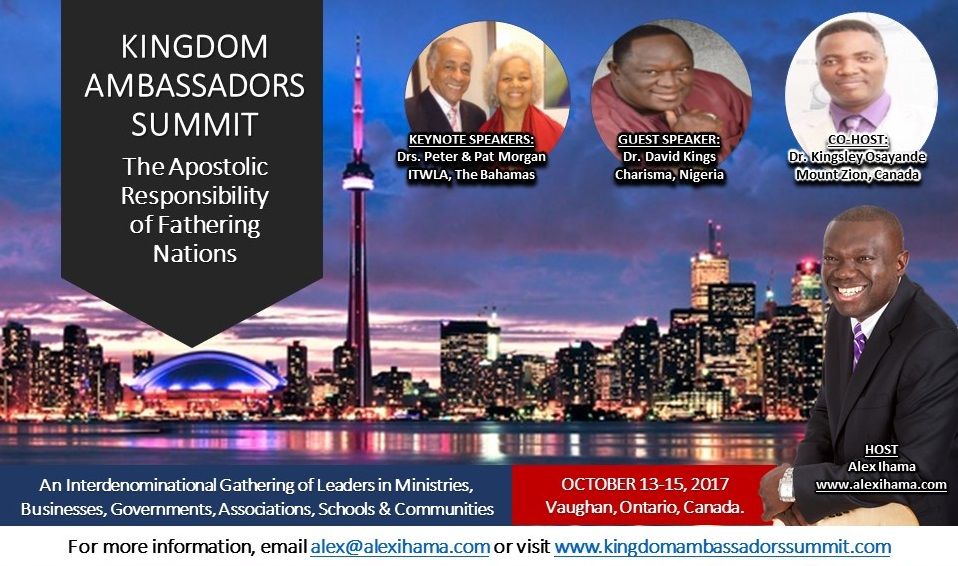 Kingdom Ambassadors Summit by Alex Ihama