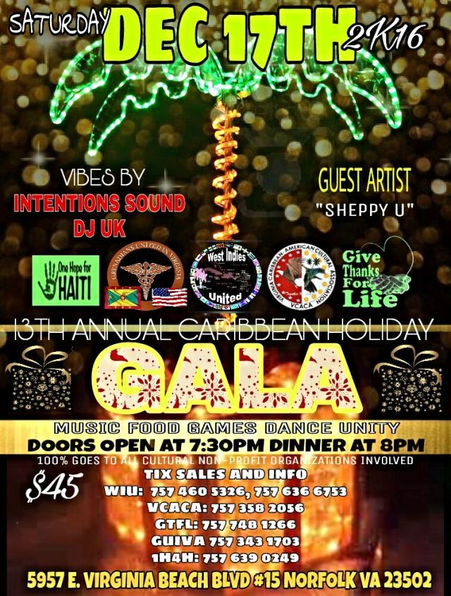 Caribbean Christmas Gala