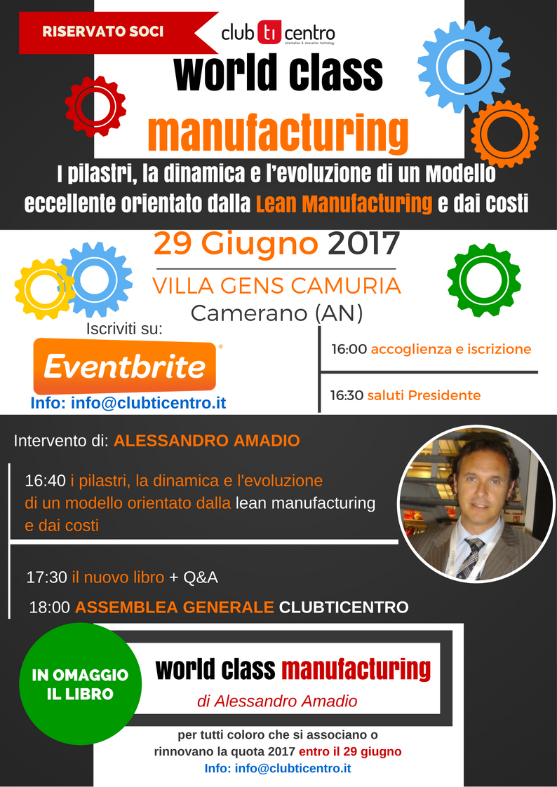 world class manufacturing - clubticentro