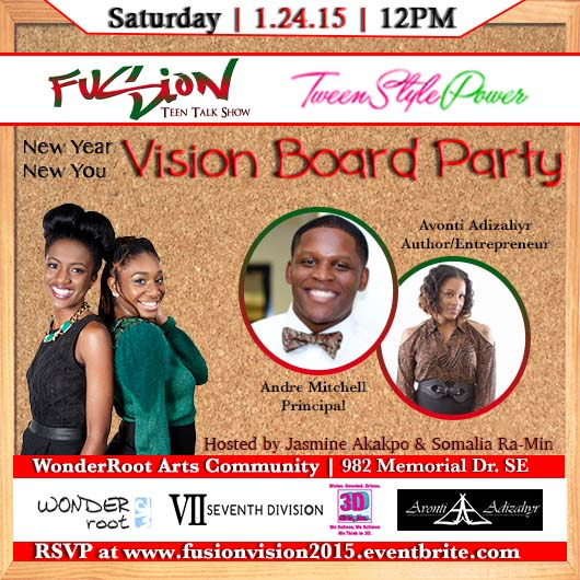 Talk Show Office Interior Design: New Year New You Vision Board Party Tickets, Sat, Jan 24
