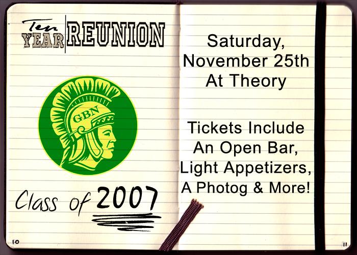 Glenbrook North High School Reunion - Tickets include: An Open Bar, Light Appetizers, A Photographer & More!