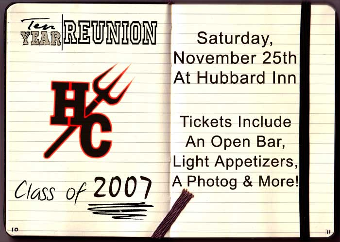 Hinsdale Central High School Ten Year Reunion - Tickets include: An Open Bar, Light Appetizers, a Photographer & More!