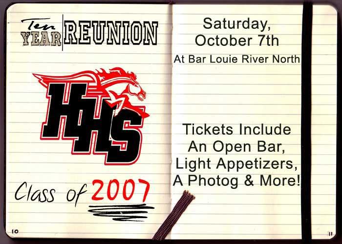 Huntley High School - Class of 2007 Ten Year Reunion