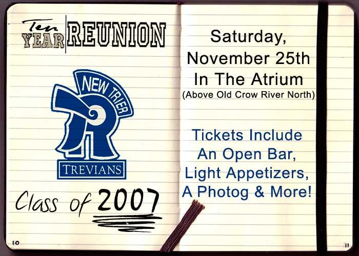 New Trier High School Class of 2007 Ten Year Reunion