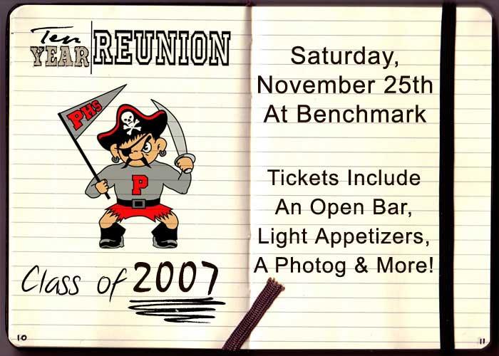 Palatine High School Class of 2007 Ten Year Reunion