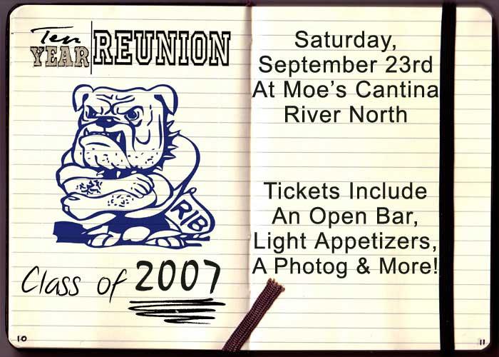 Riverside Brookfield High School Ten Year Reunion Party