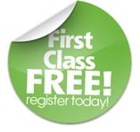 First Class Free Button
