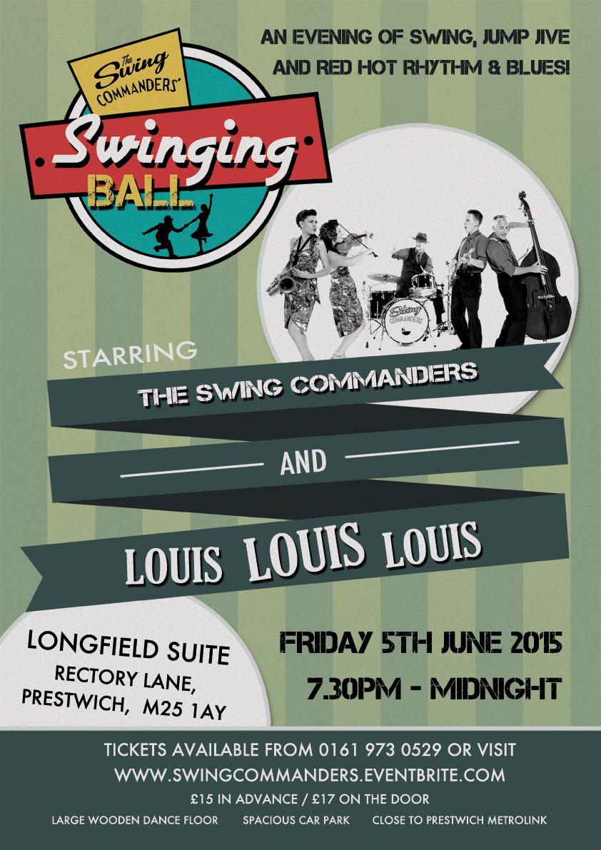 Swing Commanders with Louis Louis Louis!