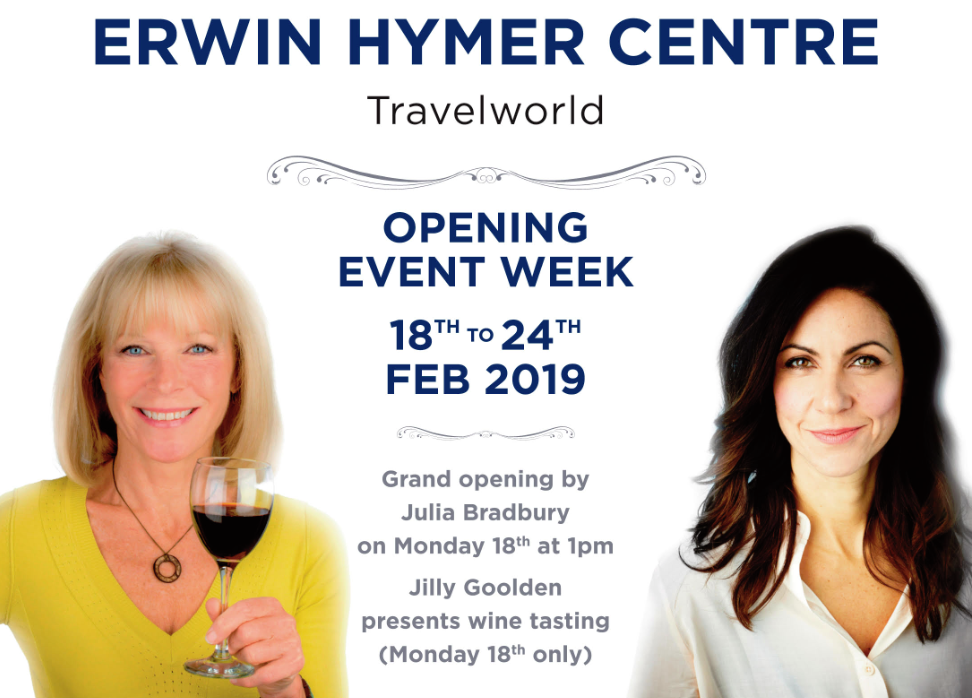 Erwin Hymer Centre Travelworld grand opening event