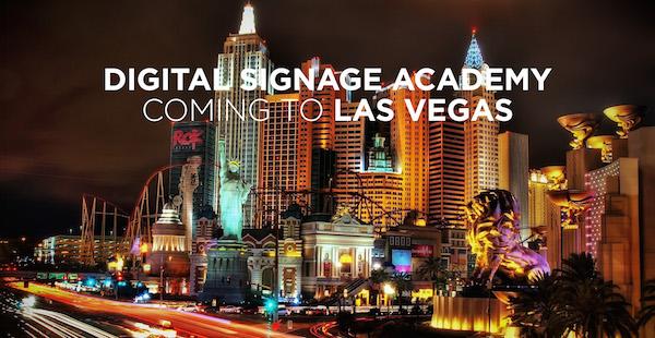 Digital Signage Academy LAS VEGAS DSE2016