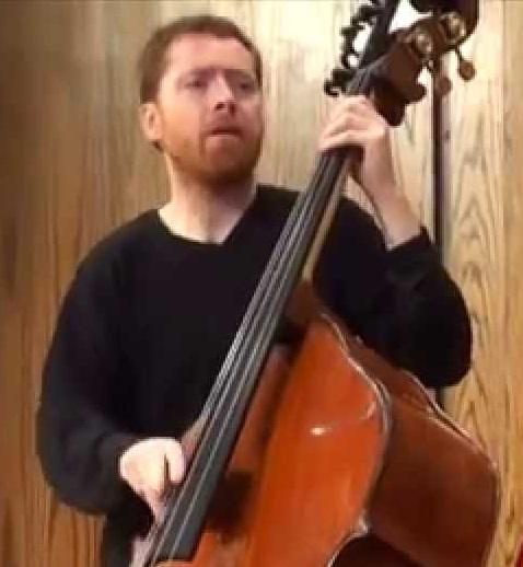 double bassist / composer Nicholas Walker