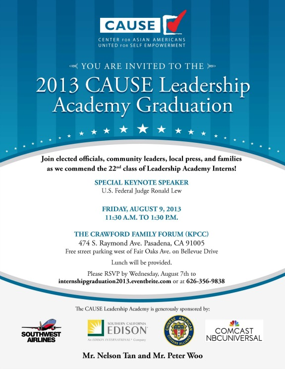 Internship Graduation 2013