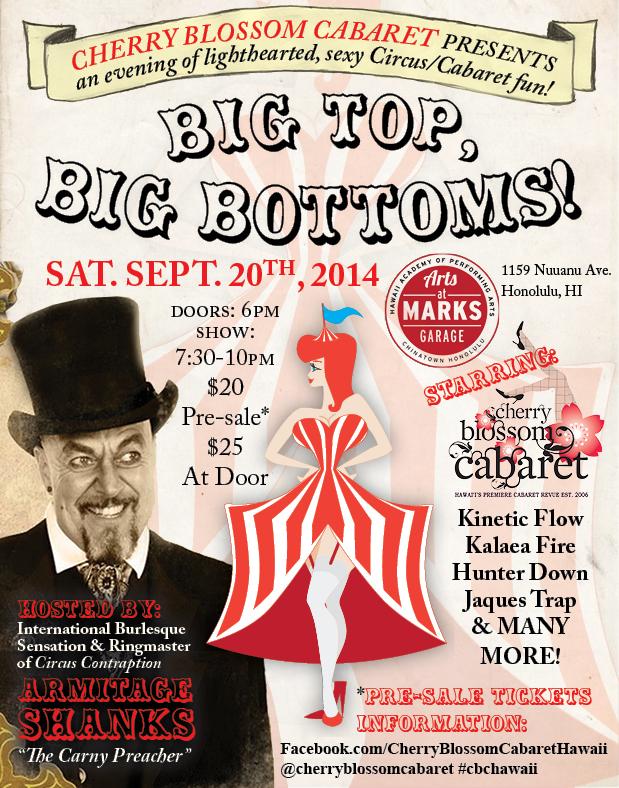 Big Top Big Bottoms! with Armitage Shanks!