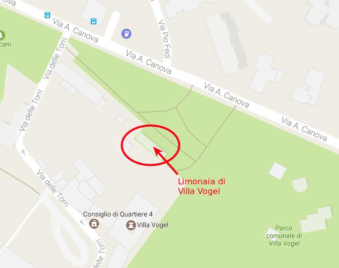 Limonaia di Villa Vogel: come arrivare