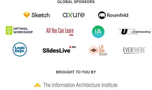 Patrocinadores WIAD 2018 Barcelona