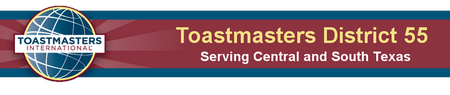 Texas Starts Toastmaster's Open House!