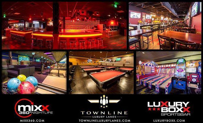 MIXX 360  Town Line Luxury Lanes  Luxury Boxx Sports Bar Malden MA