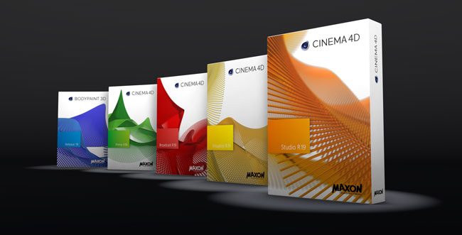 cinema4D R19 Range of Products