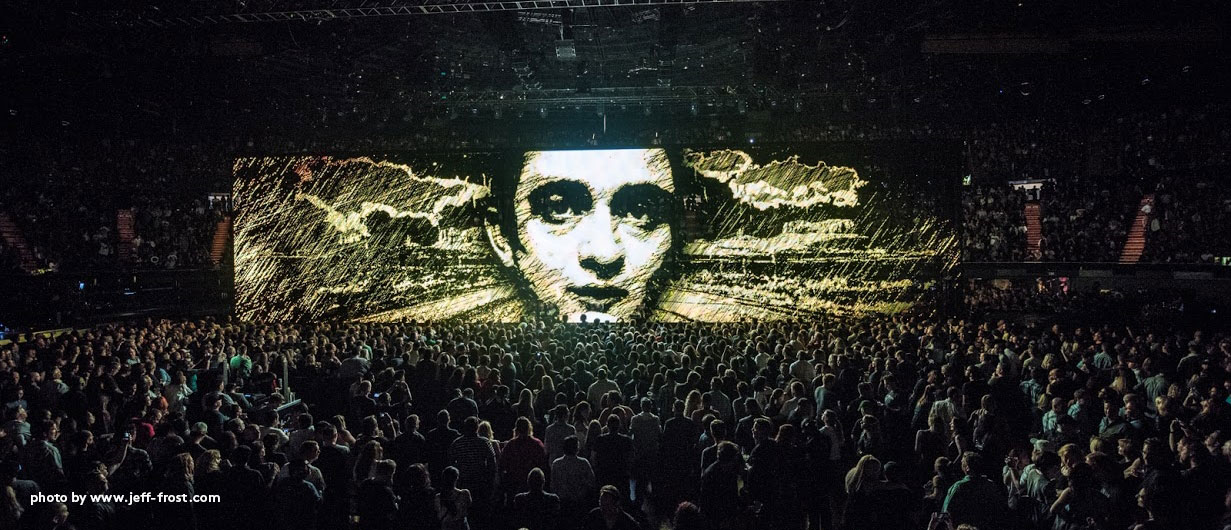 U2 concert graphics Innocence and Experience Tour