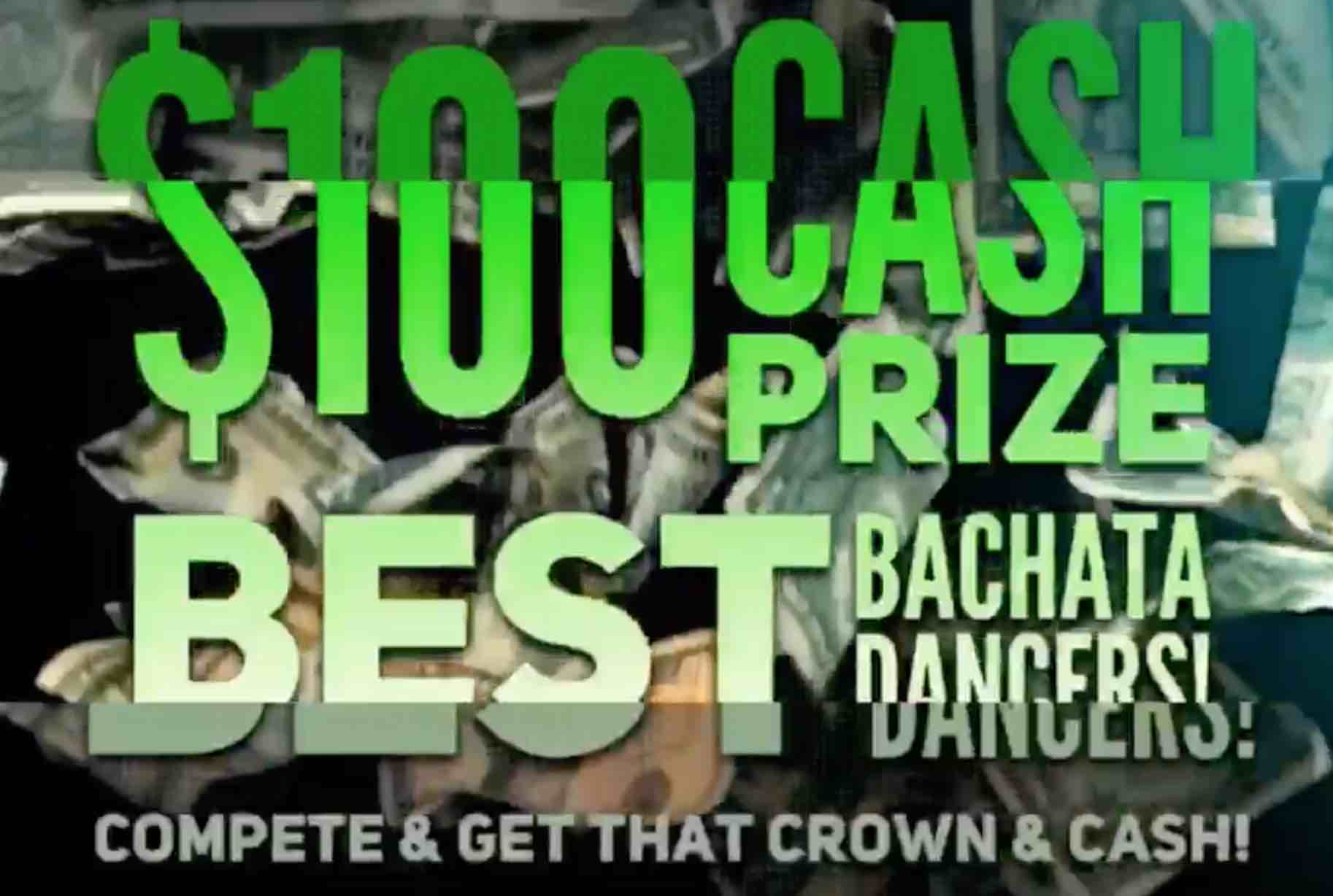 Cash Prize for Best Bachata Dancers