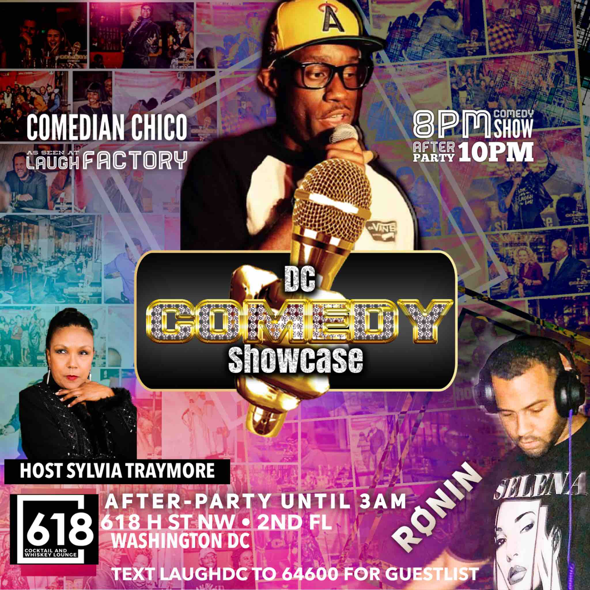 April 26 Comedy and After Party