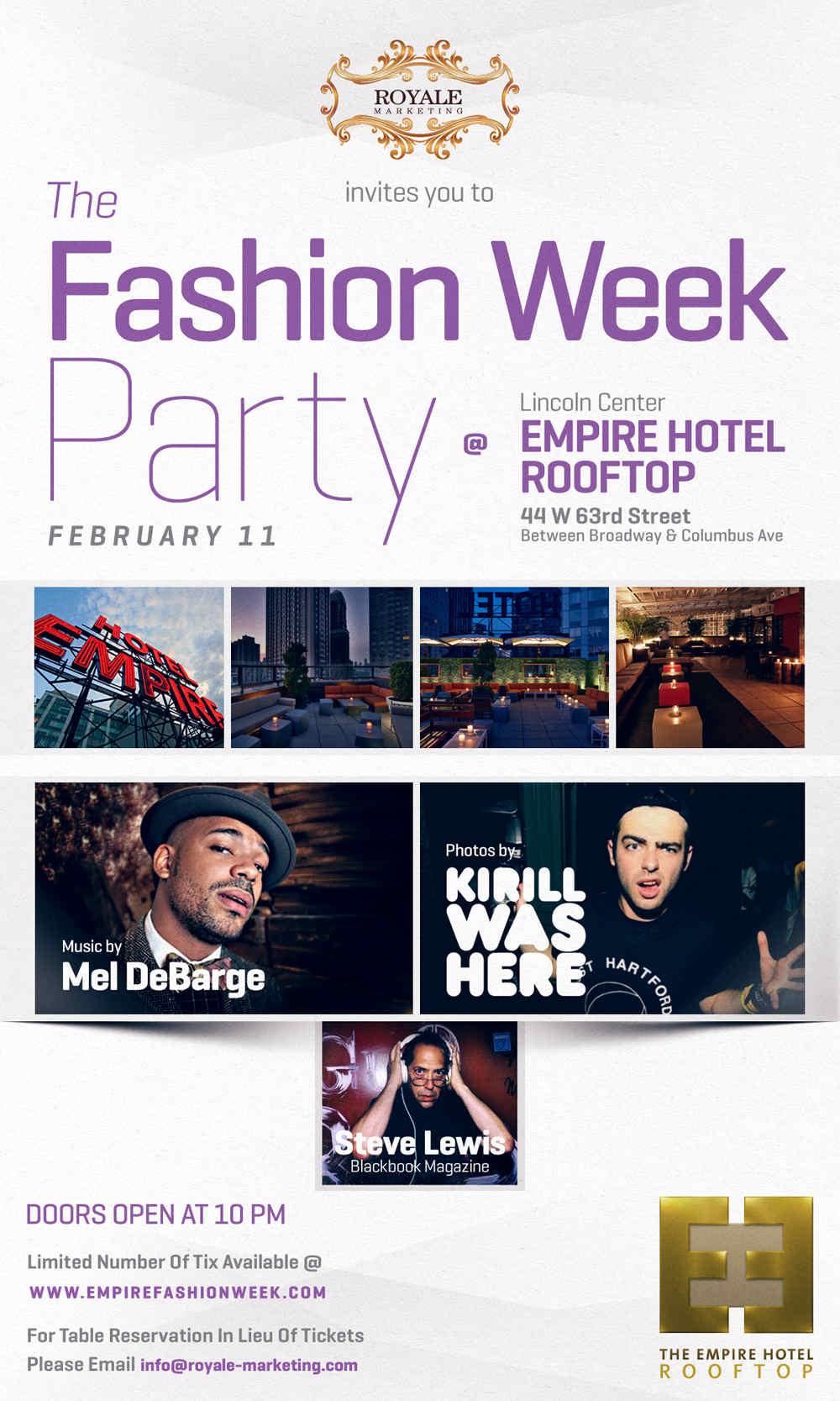 Fashion Week New York City