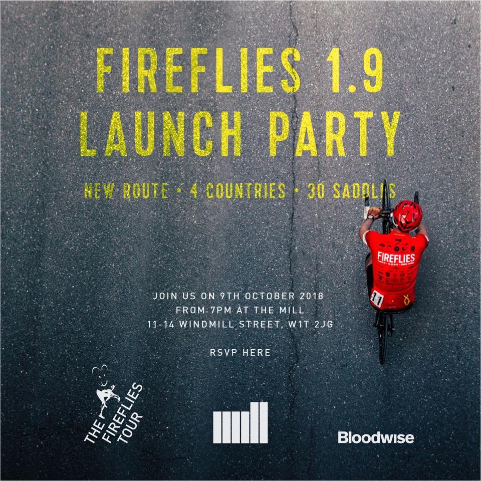 FireFlies 1.9 LAUNCH Invitation Oct 9th 2018