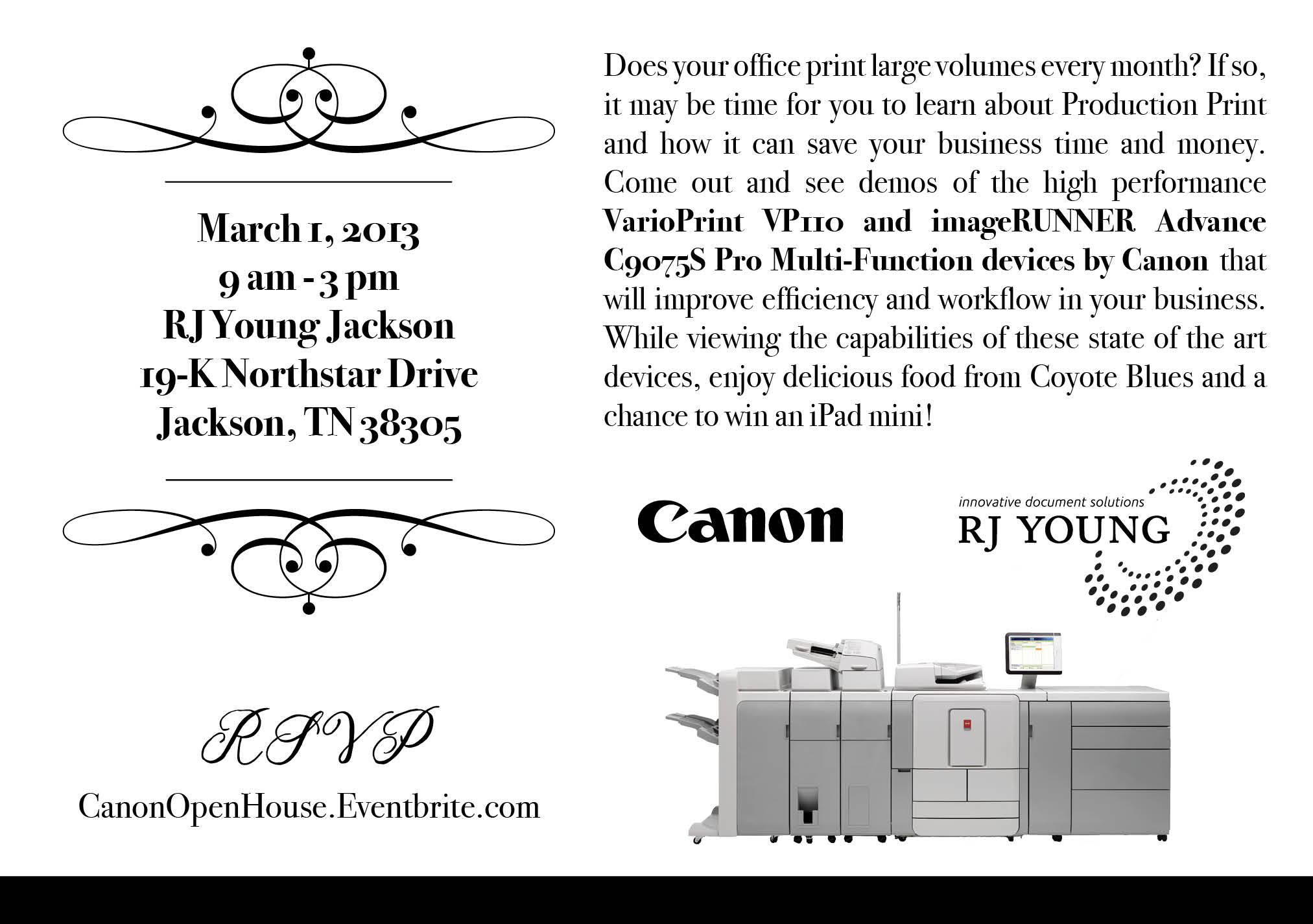 Canon Open House 3-1-13