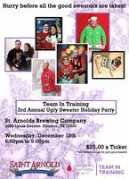 Team In Training 3rd Annual Ugly Sweater Holiday Party