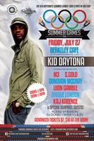 THE KID DAYTONA SUMMER GAMES TOUR: BERKELEY CAFE