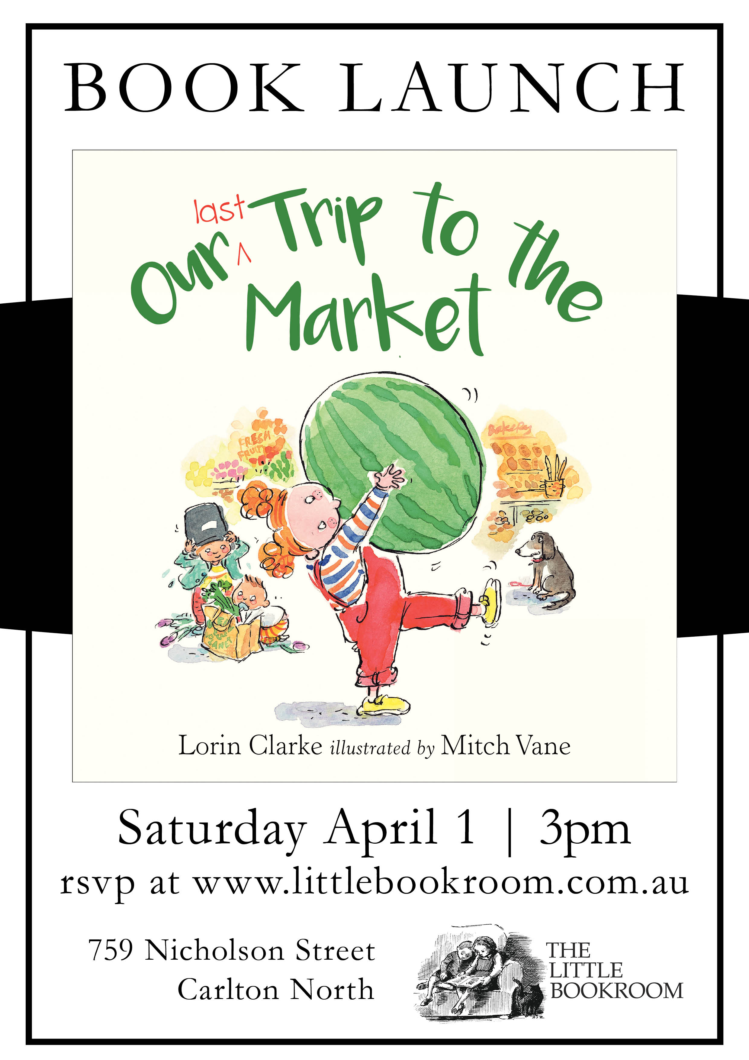 Book Launch: Our Last Trip to Market