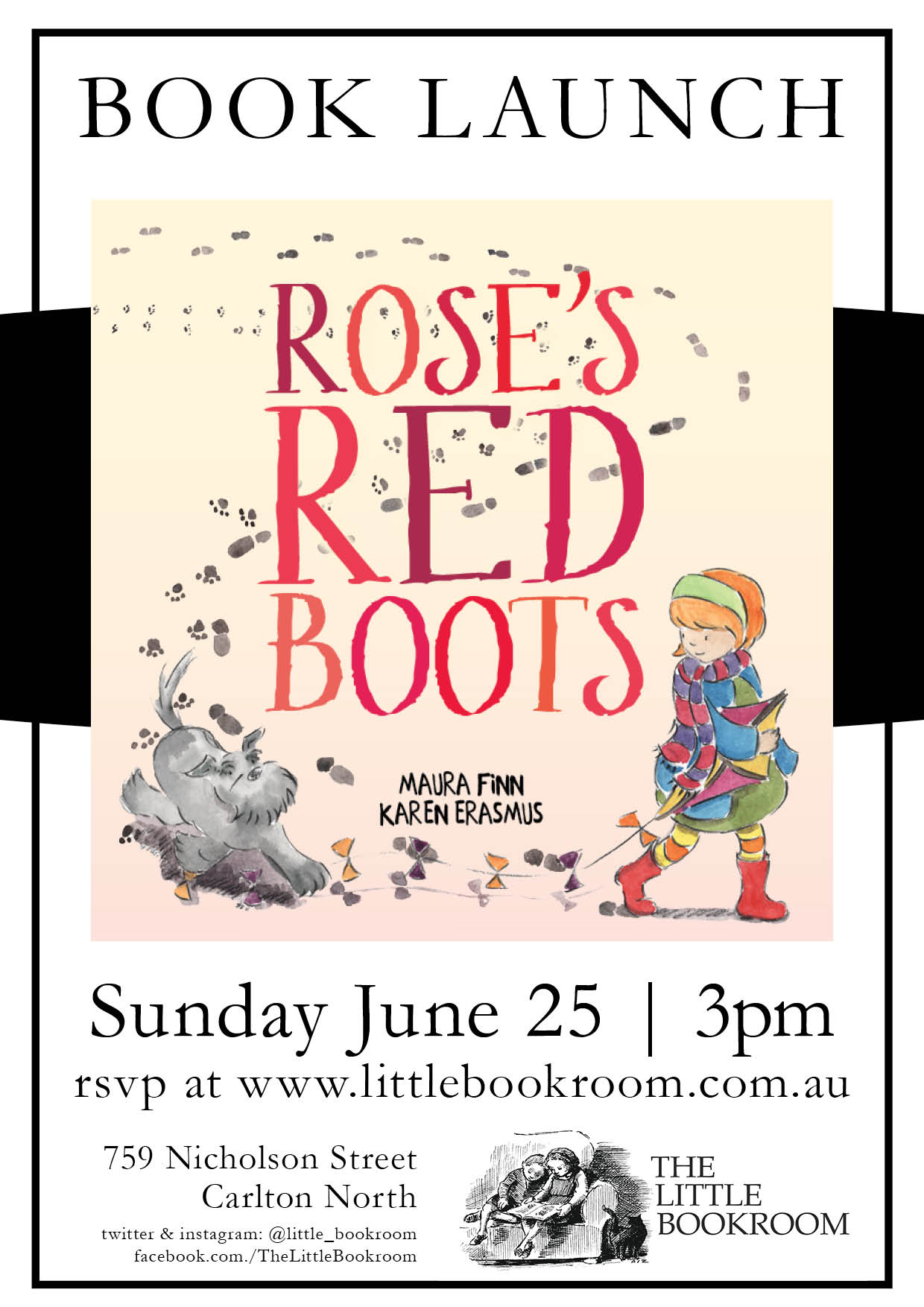Book Launch: Rose's Red Shoes by Maura Finn & Karen Erasmus