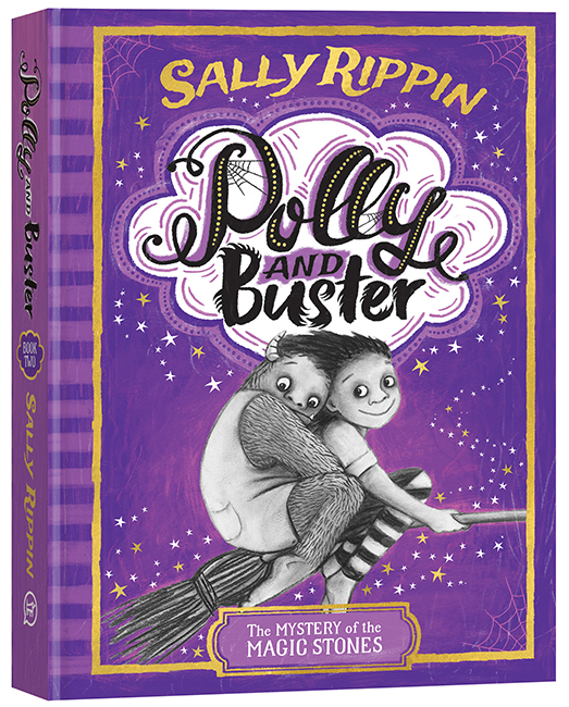 Polly and Buster: The Mystery of the Magic Stones by Sally Rippin