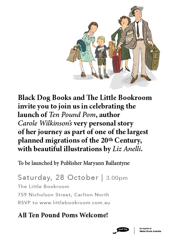 Book Launch: Ten Pound Pom