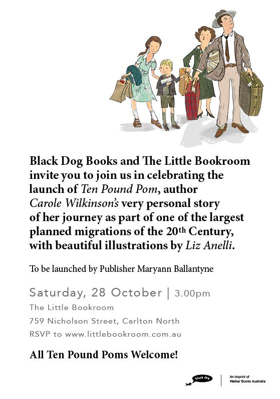 Book Launch: Ten Pound Pom