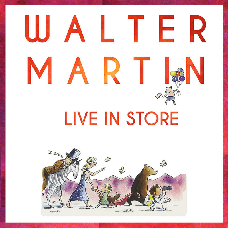 Walter Martin live in-store May 26th