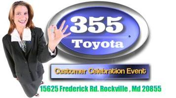 355 Toyota Customer Appreciation Night FREE Tickets & Prizes