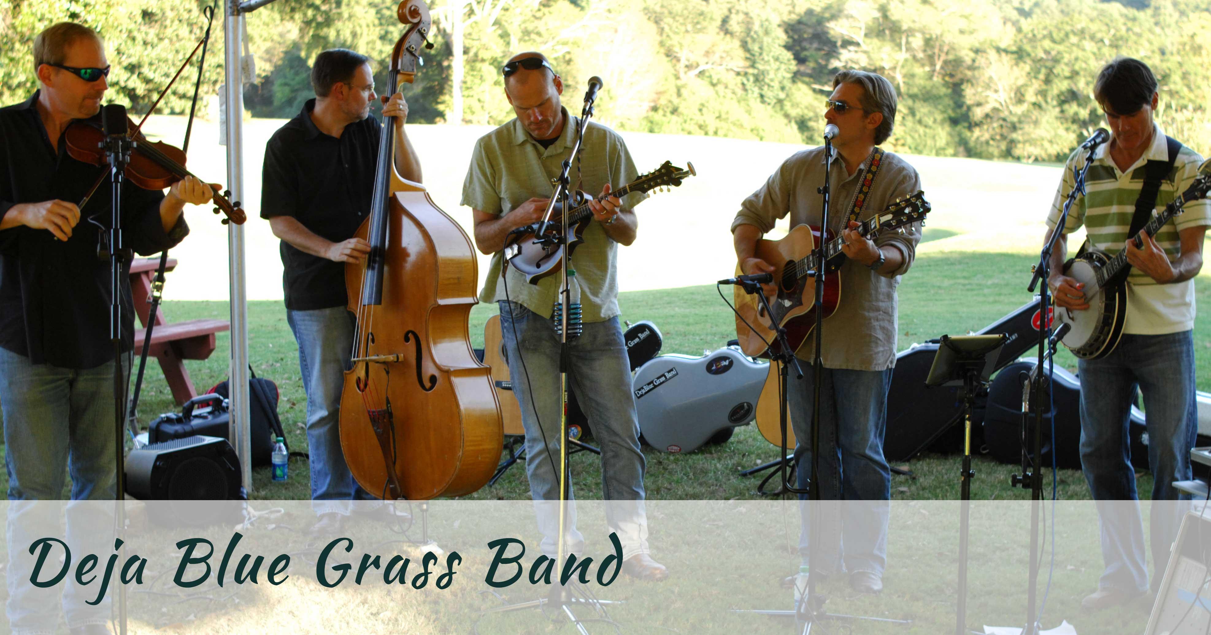 Deja blue grass band