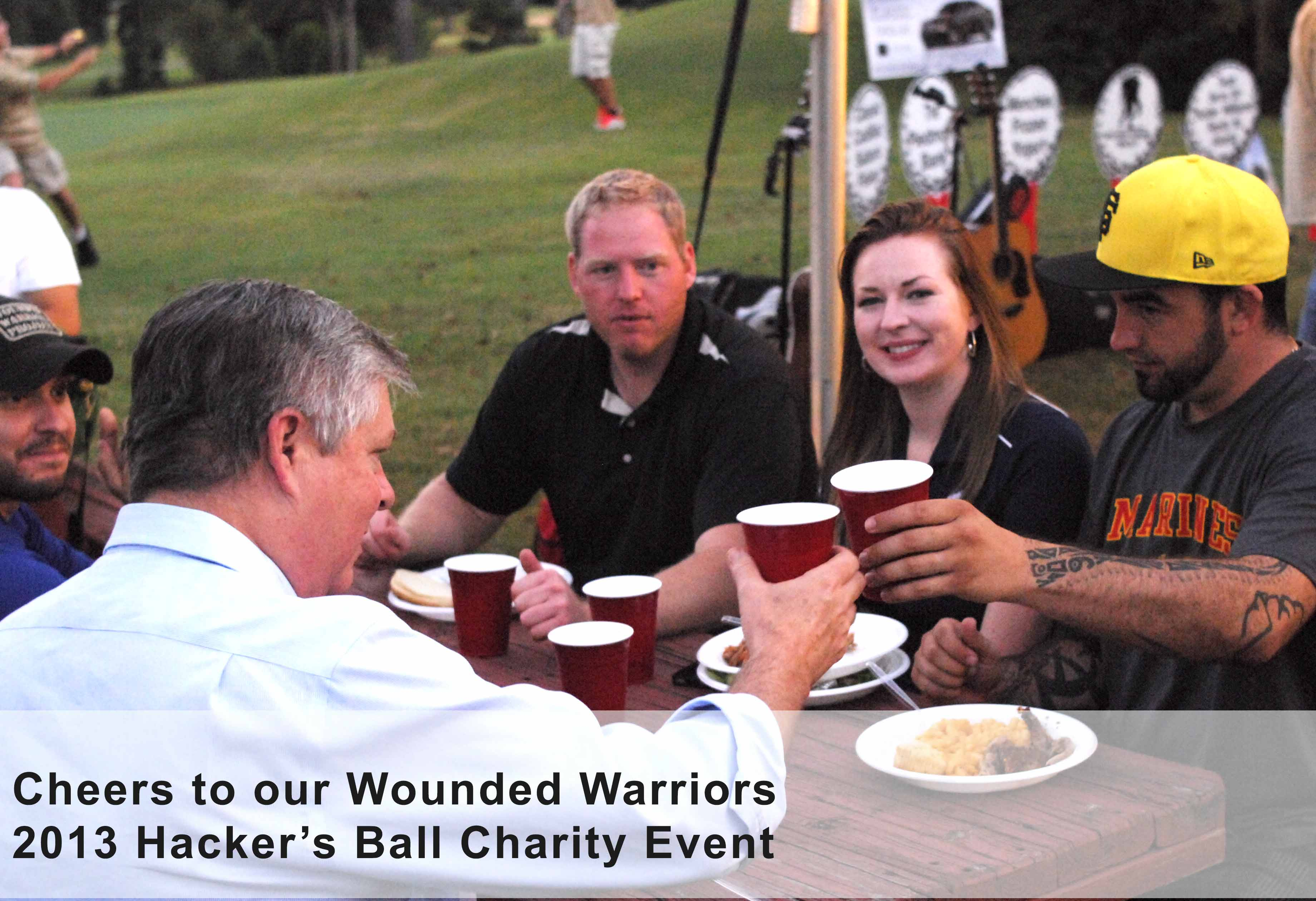 Wounded Warriors Cheer