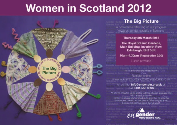 Women in Scotland 2012 invite